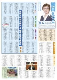 横田えつこ県政レポート2015年6月議会